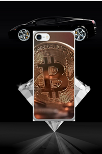 iPhone 7/7 Plus Case with Bitcoin Design 2
