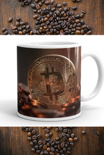Bitcoin Design Ceramic Mug 8