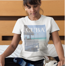 Cuban Beach Designed T-Shirt -1