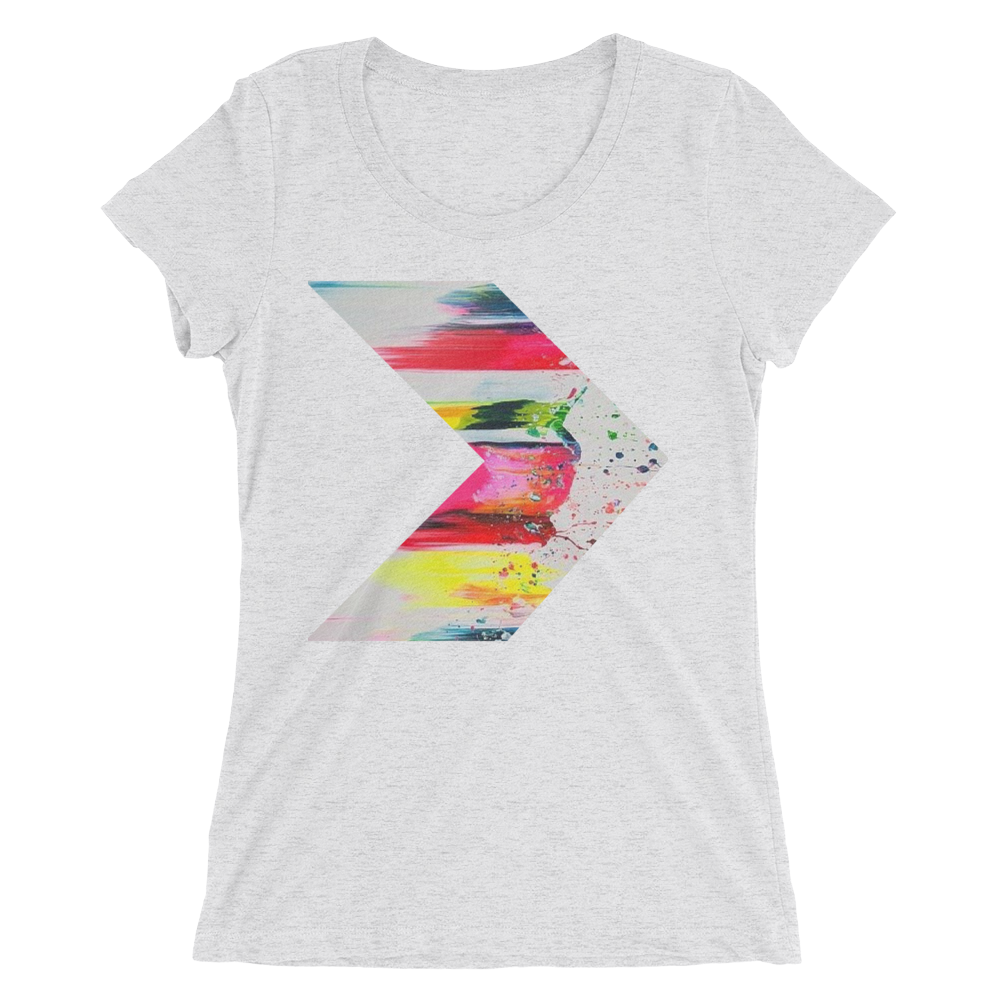 7e1d9ff7 Abstract Design T-Shirt For Women – Unique T-Shirt Store
