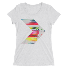 Abstract Art Design T-Shirt For Women 2