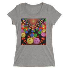Smileys Design T-Shirt For Women Short Sleeve 4