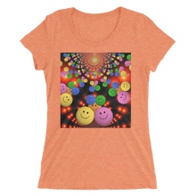 Smileys Design T-Shirt For Women Short Sleeve 11