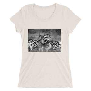 Zebra Design T-Shirt For Women 4