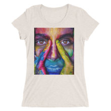Painted Face T-Shirt For Women 6