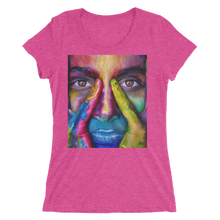 Painted Face T-Shirt For Women 10