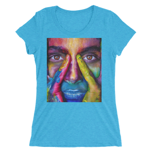 Painted Face T-Shirt For Women 8