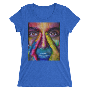 Painted Face T-Shirt For Women 9