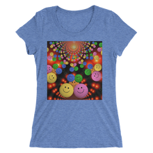 Smileys Design T-Shirt For Women Short Sleeve 10