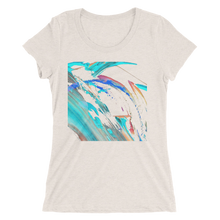 Abstract Color Design T-shirt For Women 5