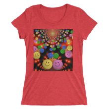 Smileys Design T-Shirt For Women Short Sleeve 12