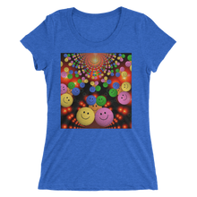 Smileys Design T-Shirt For Women Short Sleeve 13