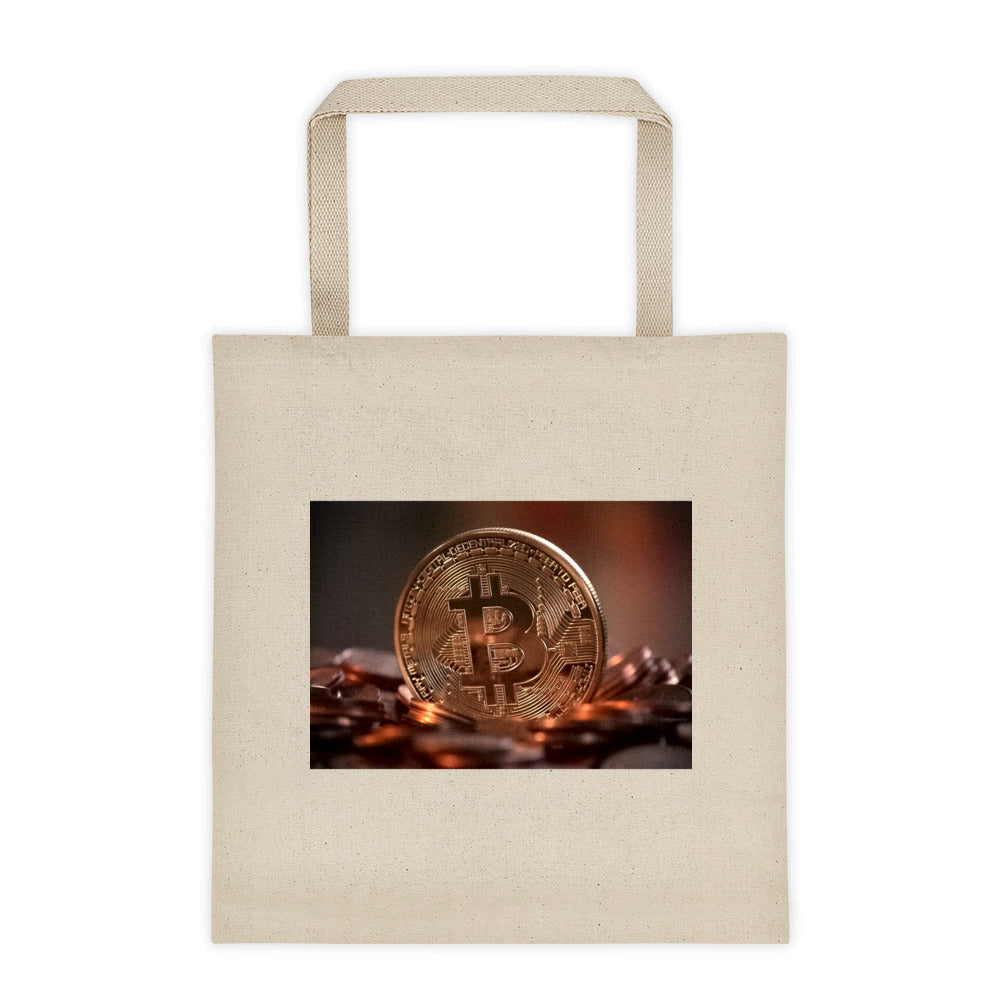 Tote bag with Bitcoin Design