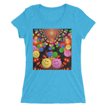 Smileys Design T-Shirt For Happy Girls