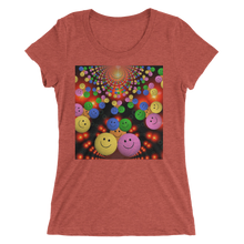 Smileys Design T-Shirt For Women Short Sleeve 9