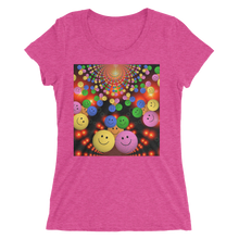 Smileys Design T-Shirt For Women Short Sleeve 14