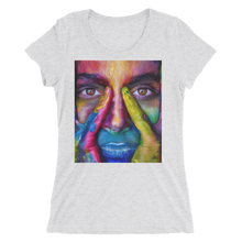 Painted Face T-Shirt For Women 7