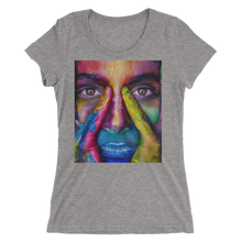 Painted Face T-Shirt For Women 4