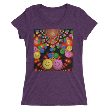 Smileys Design T-Shirt For Women Short Sleeve 7