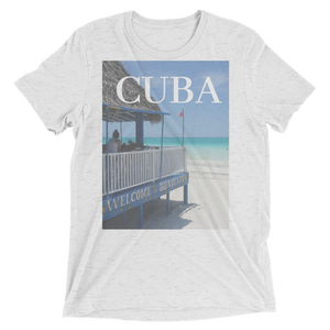 Cuban Beach Designed T-Shirt