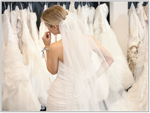 Wedding dress shopping and where to start.