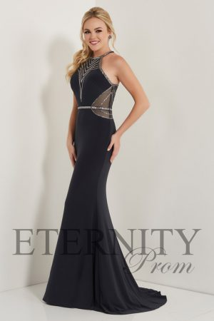 Eternity Prom 12708 Gunmetal