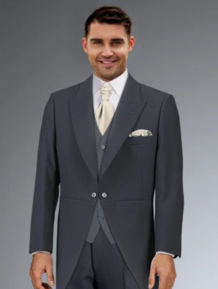 Cameron Ross - Slate Grey Tailcoat