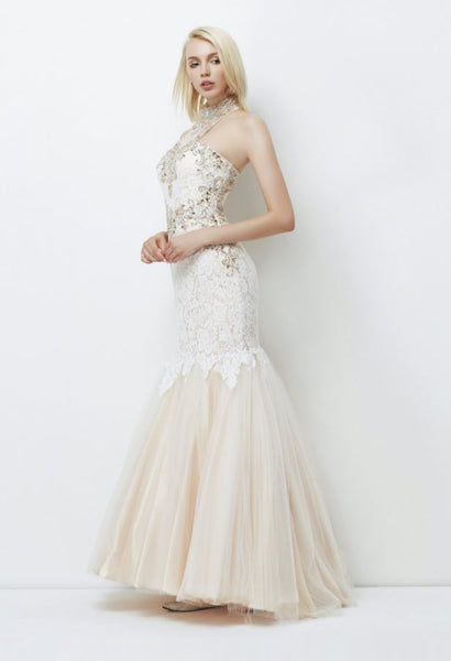 Lore - Ivory Tulle and Lace gown