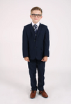 Page Boys - Navy Short Jacket, Age 8-12