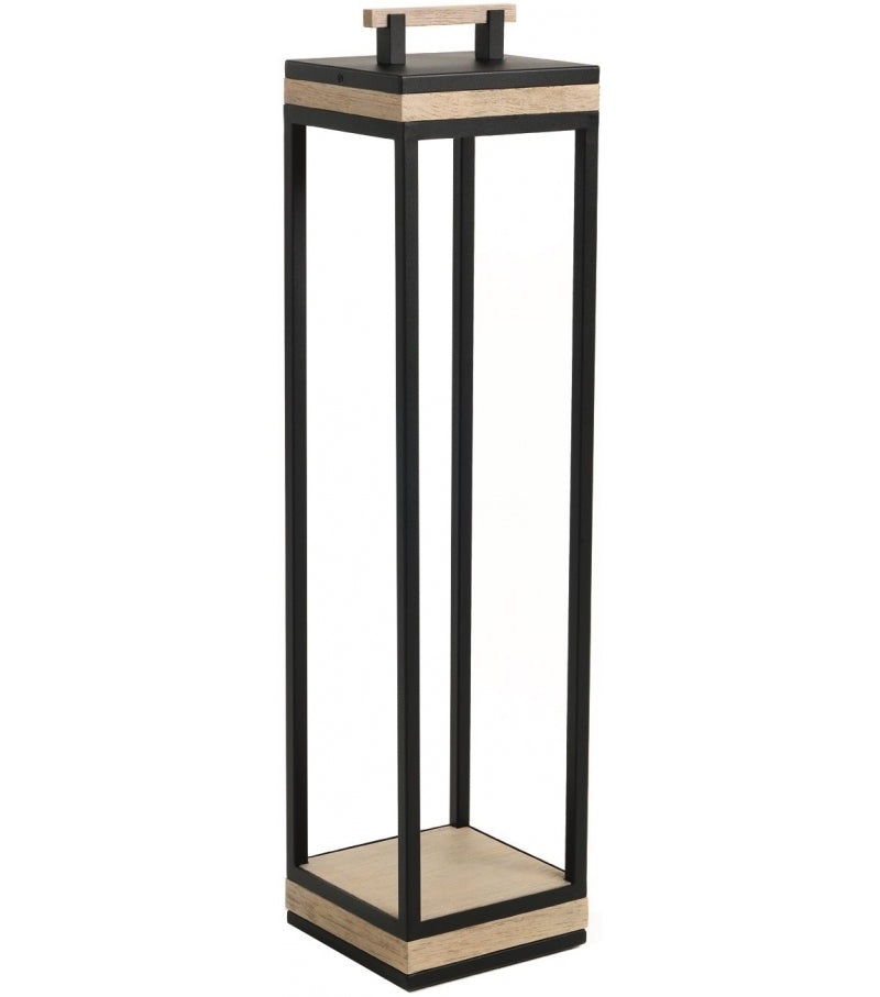 Lampe Carrè XL floor lamp de ETHIMO sepia black lumi-shop.ch