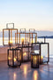 Cane-Line Lanterne Lighthouse Teak Large lumi-shop.ch