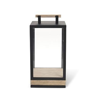 Lampe Carrè small de ETHIMO sepia black lumi-shop.ch