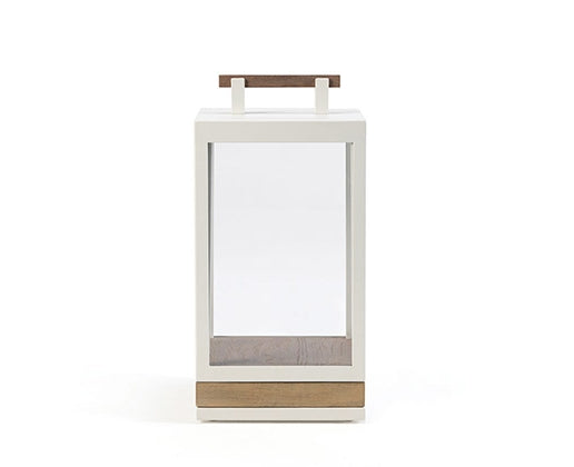 Lampe Carrè small de ETHIMO warm white lumi-shop.ch