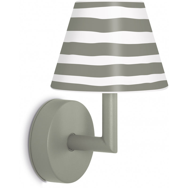 FATBOY Add The Wally grey Lampe applique murale sans fil lumi-shop.ch