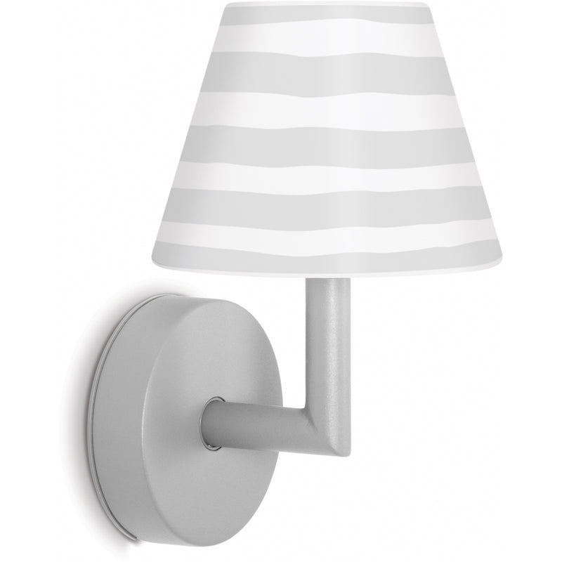 FATBOY Add The Wally light grey Lampe applique murale sans fil lumi-shop.ch