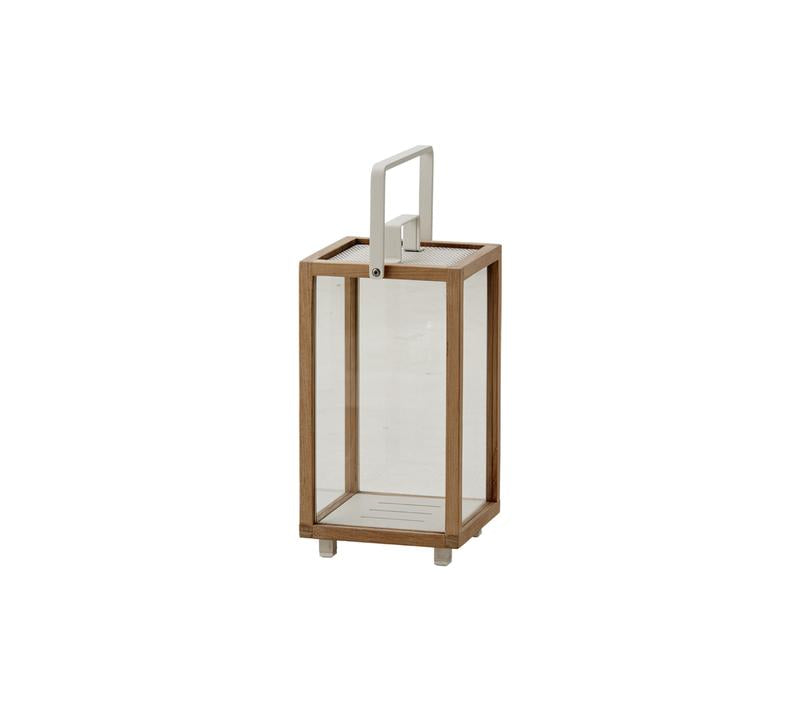 Cane-Line Lanterne Lighthouse Teak Small lumi-shop.ch