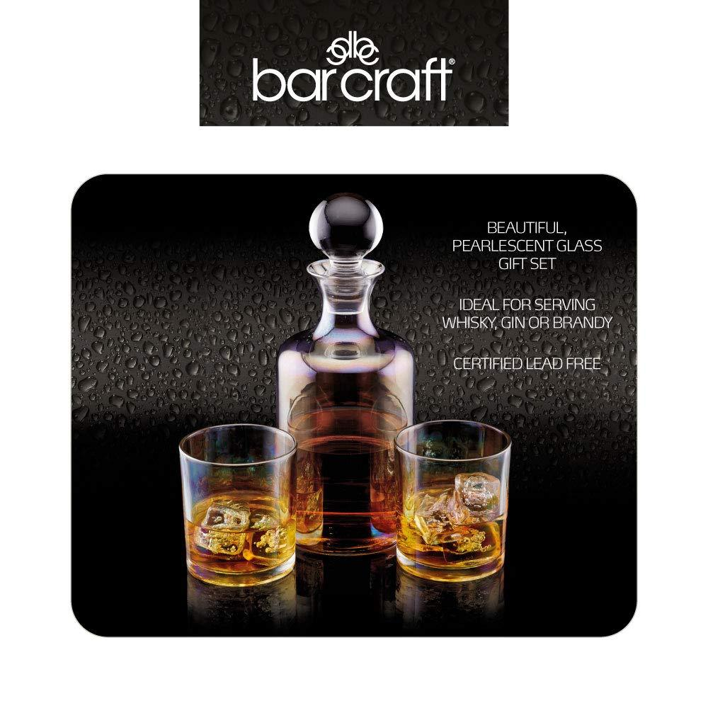 Whiskey Decanter 2 Db Pohárral Szett BarCraft
