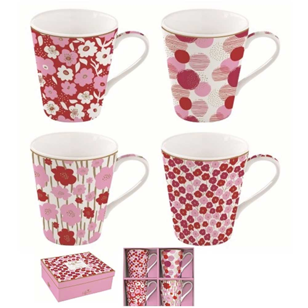 Coffee Mania Flower Power pink
