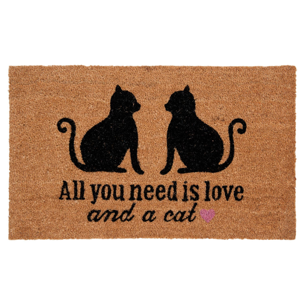 Lábtörlő All you need is love and a cat