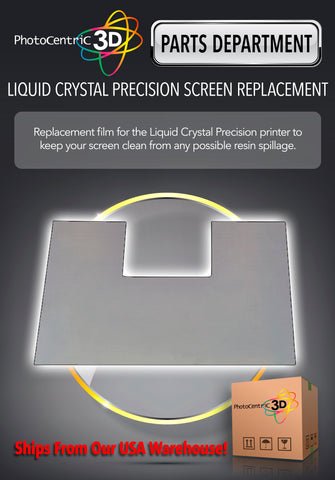 LIQUID CRYSTAL PRECISION SCREEN REPLACEMENT FILM