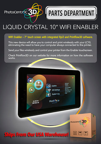 LIQUID CRYSTAL 10″ WIFI ENABLER