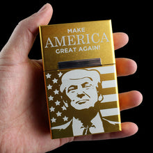 L'étui à cigarette Donald Trump
