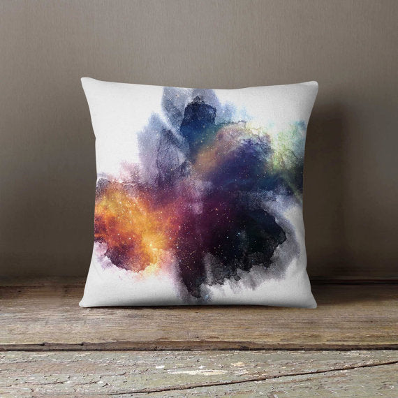 Space Inkblot Universe Pillowcase