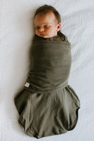 Classic 2-Way Swaddle | Moss