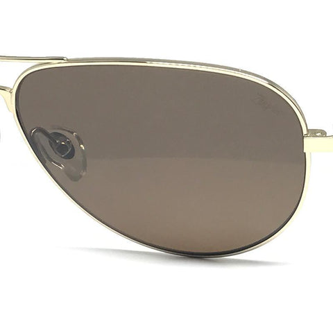Our Top Titanium Aviator Sunglasses in Gold