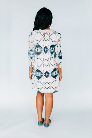 Leave Your Mark in this Smart Inkwell Dress