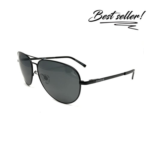 TITAN - Top Gun Titanium Aviator Sunglasses