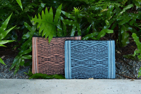 Handwoven, Hand-dyed Sierra Tribal Clutch