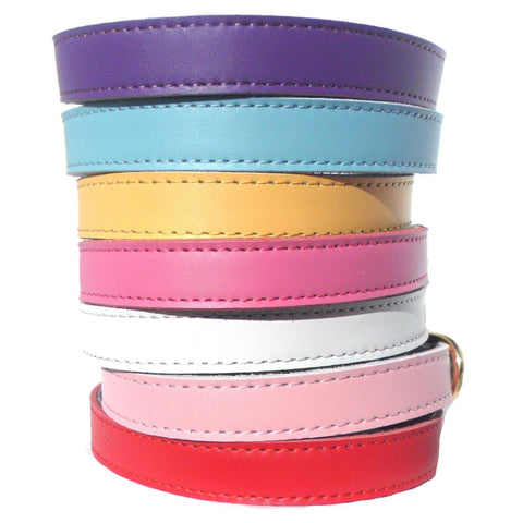 Plain Chelsea Dog Collars (4 sizes) 8-16""