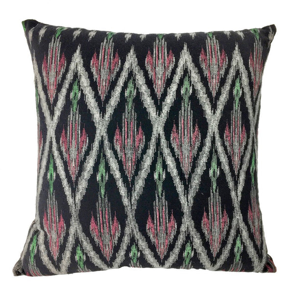 Handcrafted Cotton Tribal Ikat Pillow Cover